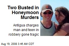 Two Busted in Honeymoon Murders