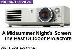 A Midsummer Night's Screen: The Best Outdoor Projectors