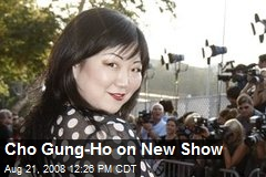 Cho Gung-Ho on New Show