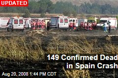 149 Confirmed Dead in Spain Crash