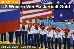 US Women Win Basketball Gold