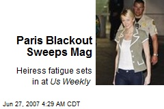 Paris Blackout Sweeps Mag