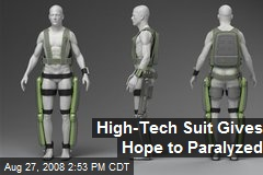 High-Tech Suit Gives Hope to Paralyzed