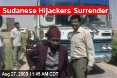 Sudanese Hijackers Surrender