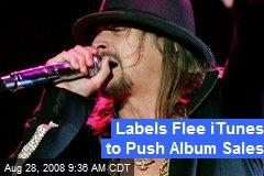 Labels Flee iTunes to Push Album Sales