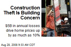 Construction Theft Is Building Concern