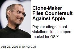 Clone-Maker Files Countersuit Against Apple
