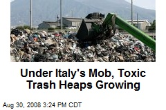 Under Italy's Mob, Toxic Trash Heaps Growing