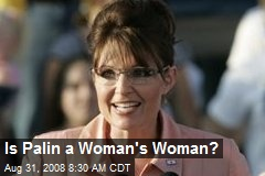 Is Palin a Woman's Woman?