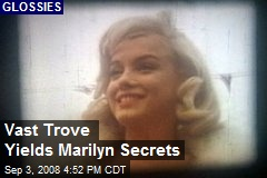 Vast Trove Yields Marilyn Secrets