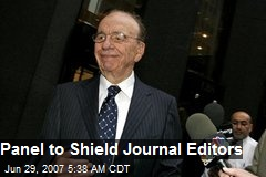 Panel to Shield Journal Editors