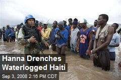 Hanna Drenches Waterlogged Haiti