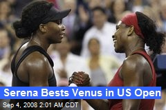 Serena Bests Venus in US Open