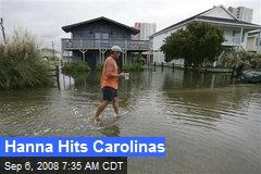 Hanna Hits Carolinas