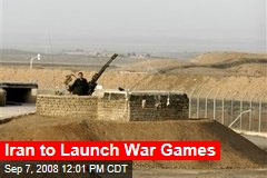 Iran to Launch War Games