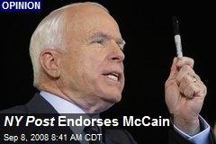 NY Post Endorses McCain