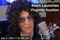 Stern Launches Virginity Auction