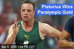 Pistorius Wins Paralympic Gold