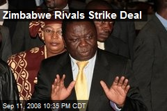 Zimbabwe Rivals Strike Deal
