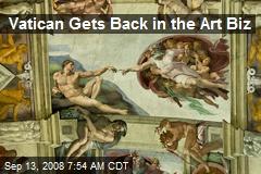 Vatican Gets Back in the Art Biz