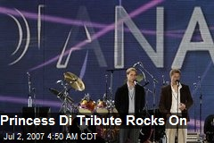 Princess Di Tribute Rocks On