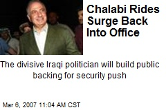 Chalabi Rides Surge Back Into Office