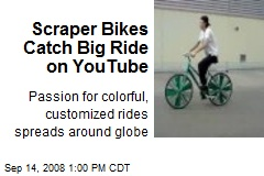 Scraper Bikes Catch Big Ride on YouTube