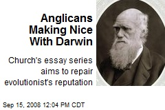Anglicans Making Nice With Darwin