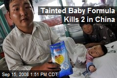 Tainted Baby Formula Kills 2 in China