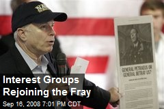 Interest Groups Rejoining the Fray