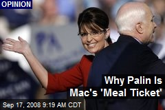 Why Palin Is Mac's 'Meal Ticket'