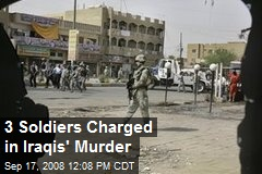 3 Soldiers Charged in Iraqis' Murder