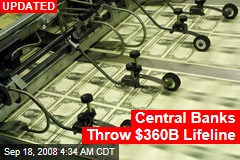 Central Banks Throw $360B Lifeline