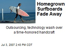 Homegrown Surfboards Fade Away