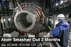 Atom Smasher Out 2 Months