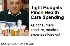Tight Budgets Pinch Health Care Spending