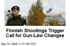 Finnish Shootings Trigger Call for Gun-Law Changes