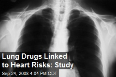 Lung Drugs Linked to Heart Risks: Study