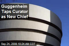 Guggenheim Taps Curator as New Chief