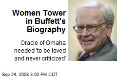 Women Tower in Buffett's Biography