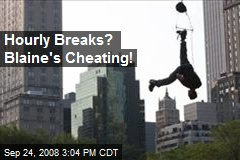 Hourly Breaks? Blaine's Cheating!