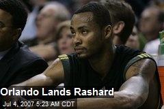 Orlando Lands Rashard