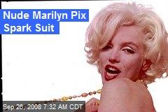 Nude Marilyn Pix Spark Suit