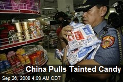 China Pulls Tainted Candy