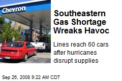 Southeastern Gas Shortage Wreaks Havoc