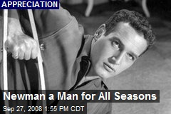 Newman a Man for All Seasons