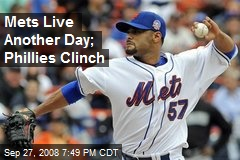 Mets Live Another Day; Phillies Clinch