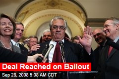 Deal Reached on Bailout