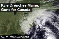 Kyle Drenches Maine, Guns for Canada