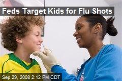 Feds Target Kids for Flu Shots